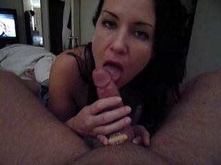 Nice wife blowjob